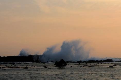 sunset at Tanjung Layar Sawarna_6